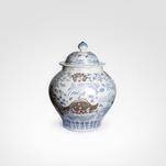Potiche em Porcelana Chinesa 01