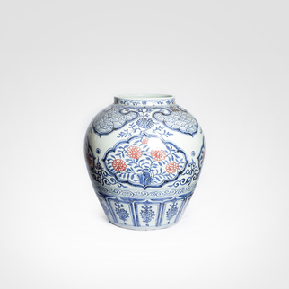 Potiche em Porcelana Chinesa 02
