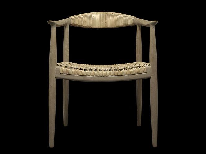 Cadeira de Madeira e Palha